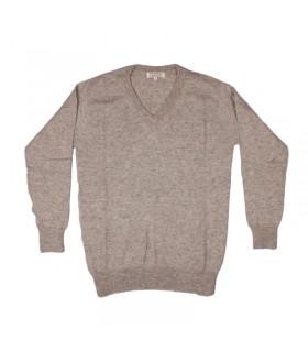 Cashmere V-neck sweater for men