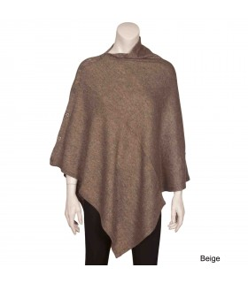 Two in one poncho and muffler