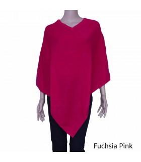 Vibrant Color Poncho