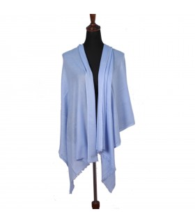 Cashmere Light Blue Shawls