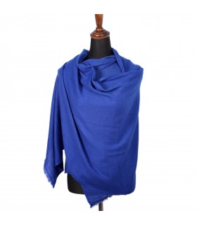 Nepali Cashmere Royal Blue Shawls