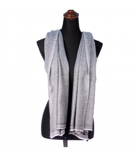 Natural Two Tone Cashmere Shawls